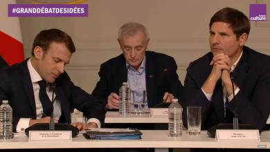 Photo de 65 intellectuels et 1 président: le non-débat